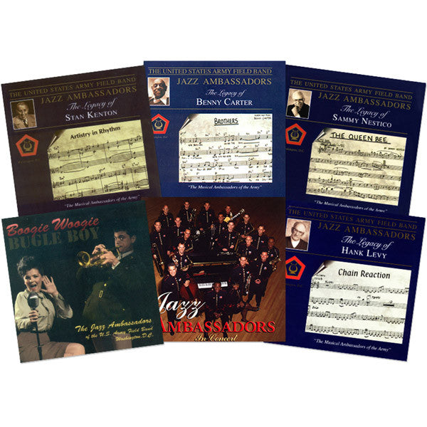 "The U.S. Army Band ""Jazz Ambassadors"" Collection 7-CD Set"