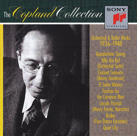 Aaron Copland Collection: 1936-1948 3-CD Set