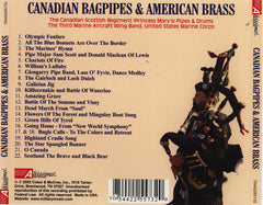 Canadian Bagpipes and American Brass