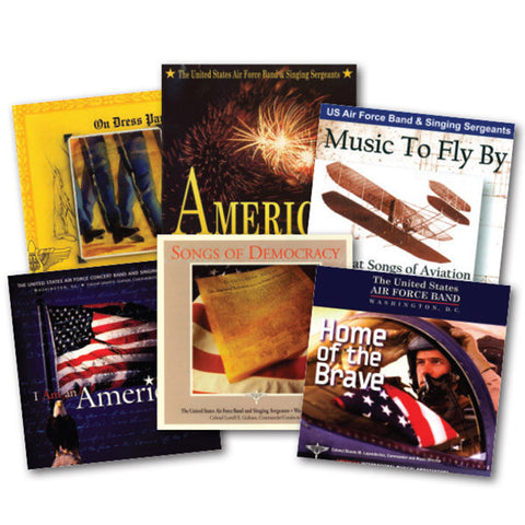 U.S. Air Force Band Collection 6-CD Set