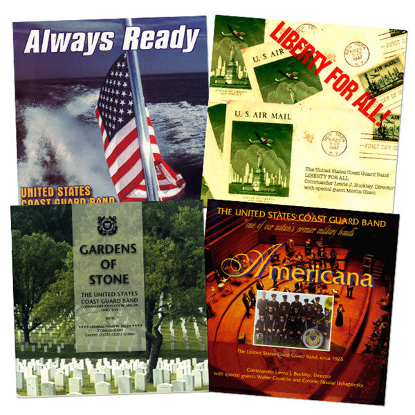 The U.S. Coast Guard Band Collection 4-CD Set