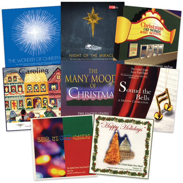 U.S. Military Bands Christmas Collection 8-CD Set