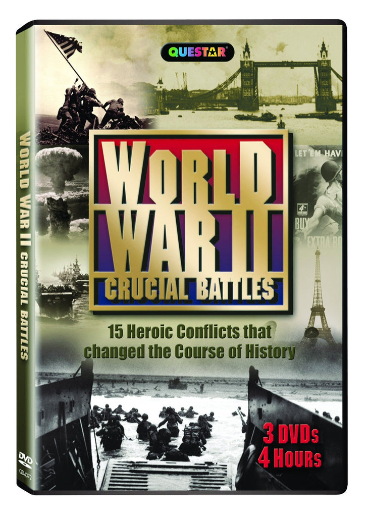 World War II: Crucial Battles 3-DVD Set