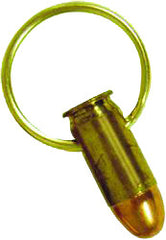 45 Caliber and M-16 Bullet Key Rings