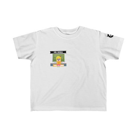 Copy of Small Print- Boy Genius Kid's Fine Jersey Tee