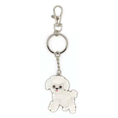Gio The Worldly Dog Keychain