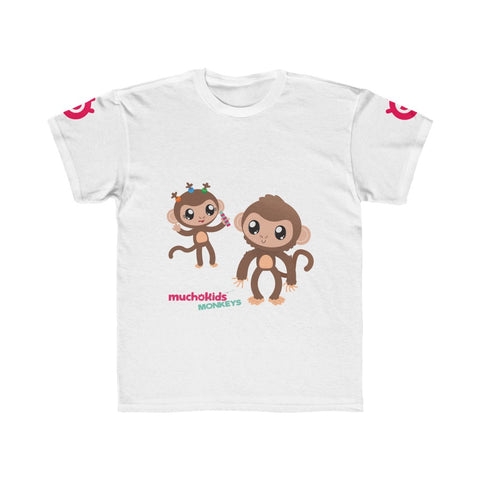 Kids Mucho Monkeys Shirt Regular Fit Tee