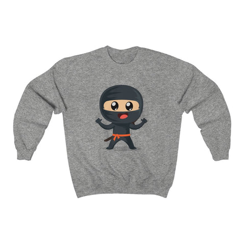 NINJA Adult Unisex Heavy Blend™ Crewneck Sweatshirt