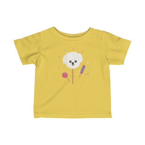 Infant The Sweetest Dog Fine Jersey Tee