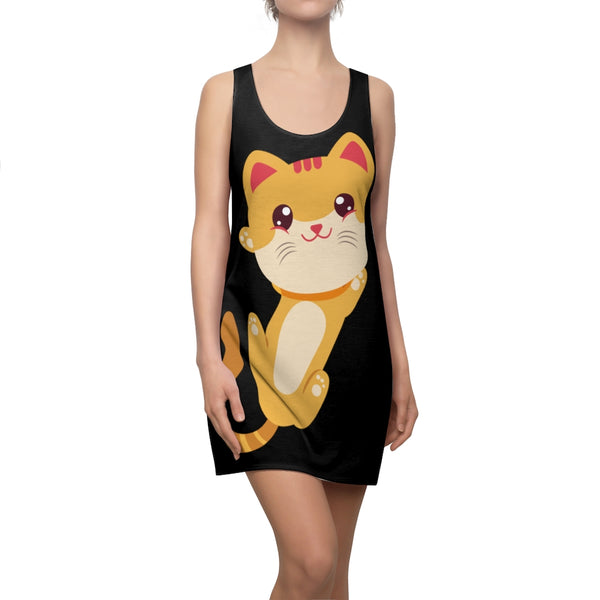 Kitten Lover Women's Cut & Sew Racerback Dress