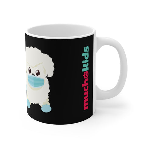 STAY SAFE with Gio The Worldly Dog! Coffee Mug 11oz