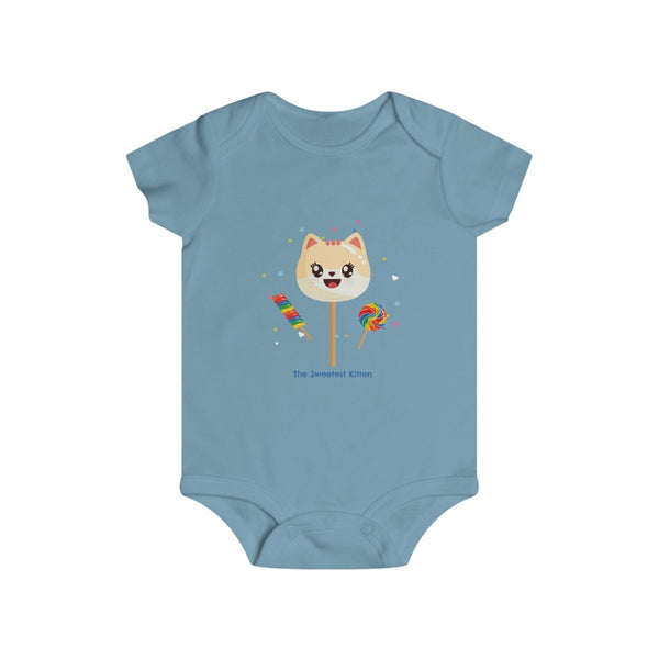 Infant The Sweetest Kitten Baby Rip Snap Tee