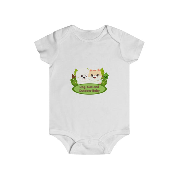Infant Dog, Cat and Outdoor Rip Snap Tee