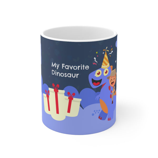 My Favorite Dinasour Coffee Mug 11oz