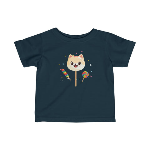 Infant The Sweetest Cat Fine Cute Jersey Tee
