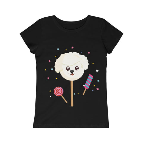 Girls The Sweetest Dog Candy Princess Tee