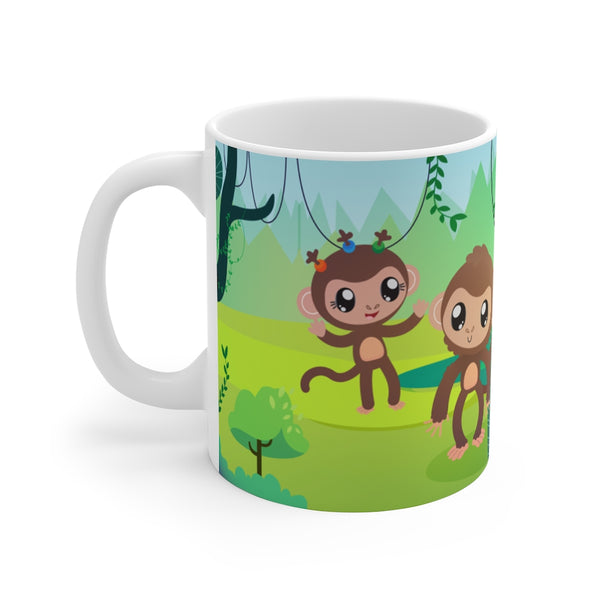 I'd rather monkey around! Coffee Mug 11oz