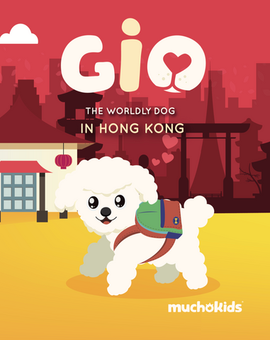 E-Book: Gio The Worldly Dog in Hong Kong