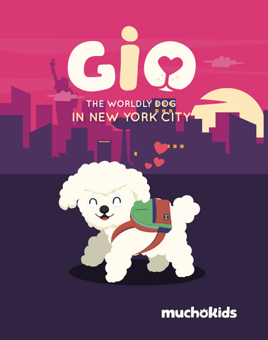 E-Book: Gio The Worldly Dog in NYC