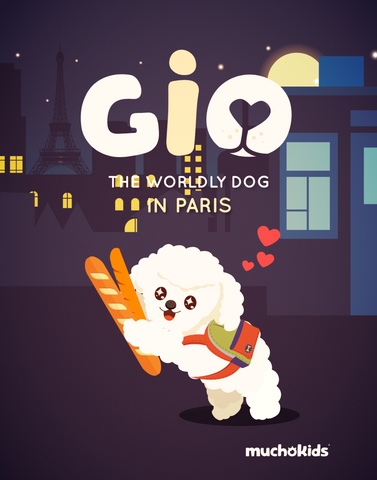 E-Book: Gio The Worldly Dog in Paris