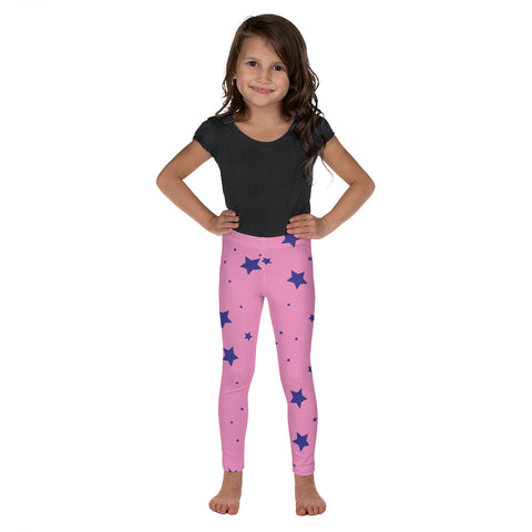 Kid's Pink and Stars Leggings