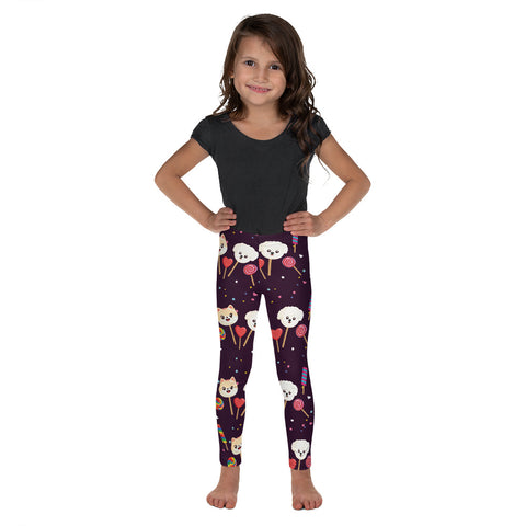 Kid's Dog, Cat and Candy Leggings
