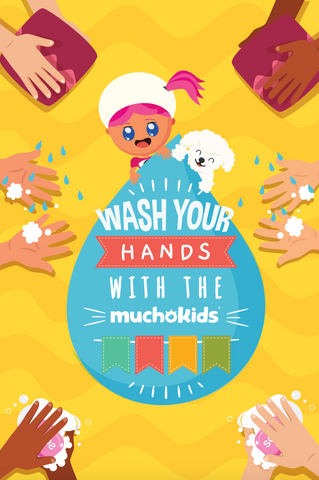 FREE E-Book: How to wash your hands- for kids!