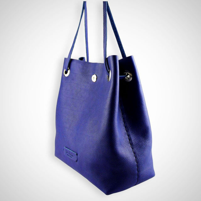 Posh Bucket Bag | Indigo