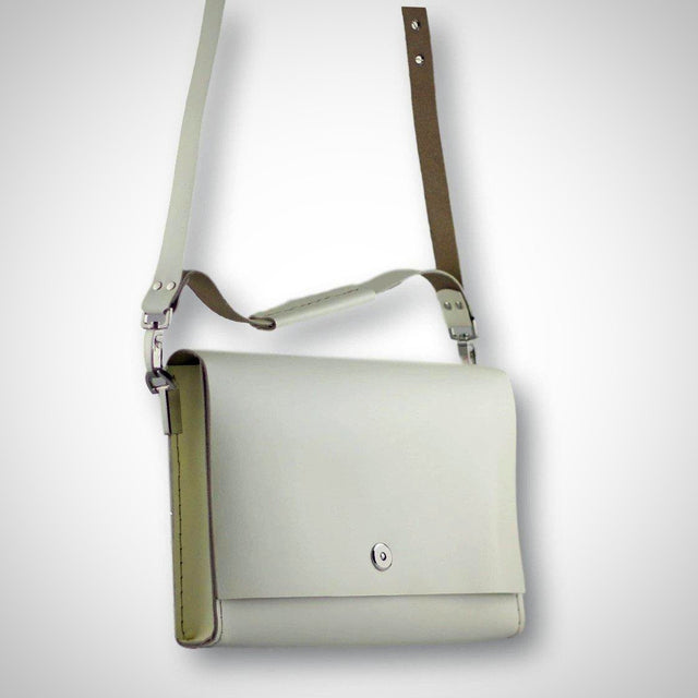 Smooth shoulder bag | cream