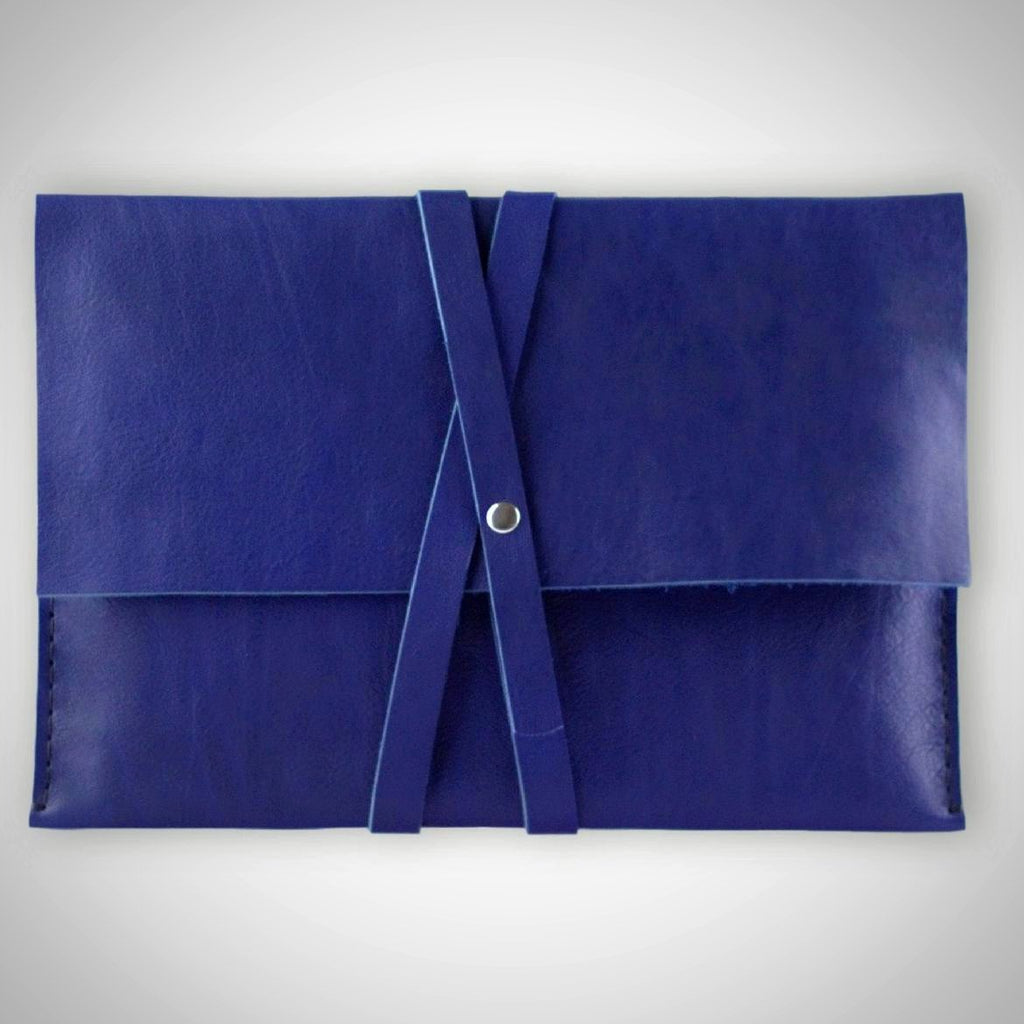 Valer clutch | Macbook case | indigo