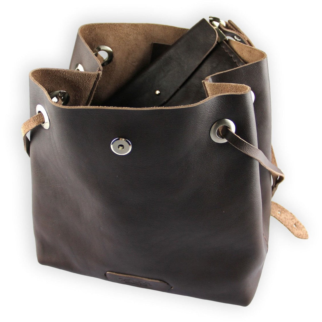 Posh Bucket Bag | Brown