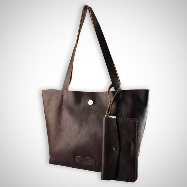 Posh Tote Bag | Brown