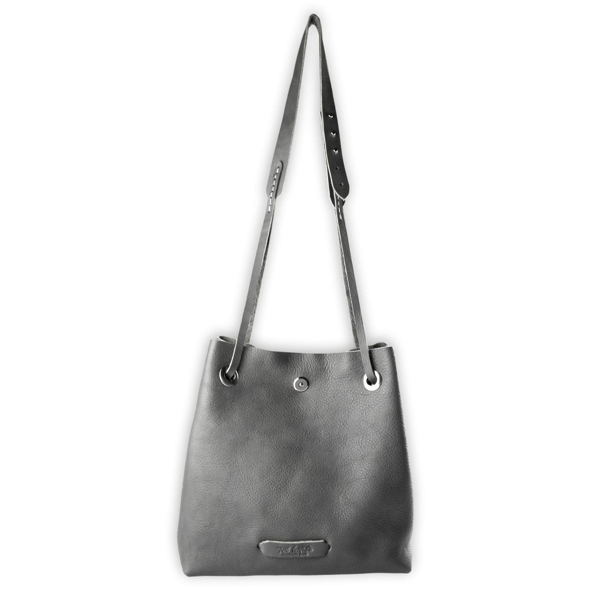 Posh Bucket Bag | Gray