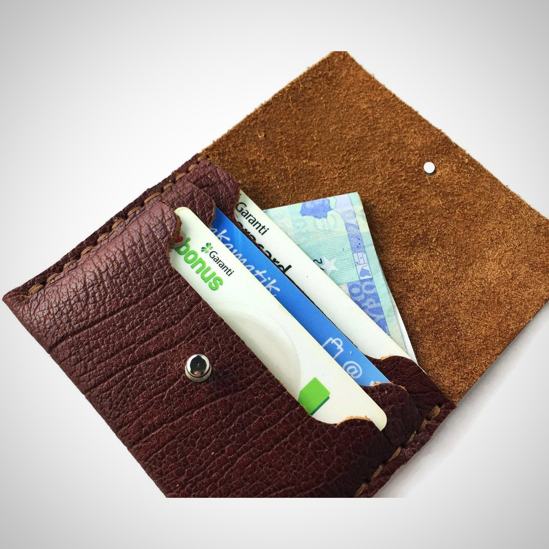 Buffalo mini wallet / card case