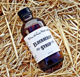 Elderberry Syrup - Natural and Organic, 4 or 8 fl oz, Herbs, Spices, High Vitamin C, Vitamin A, Raw Honey