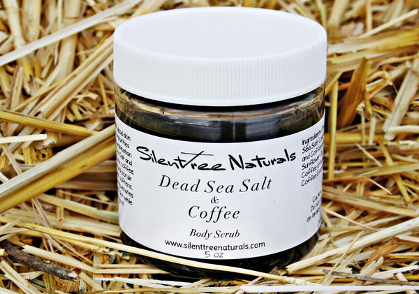 Dead Sea Salt & Coffee Body Scrub - Natural Skincare, Salt Scrub, Organic Coffee Scrub, Mineral-Rich Scrub