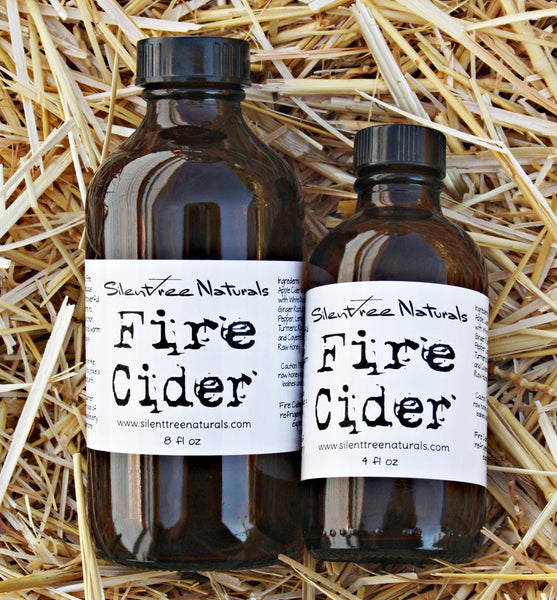 Fire Cider - 4 or 8 fl oz, Natural and Organic, Immune-Boosting, Oxymel, Cold and Flu, Master Tonic, Spicy, Natural Products, Free Shipping