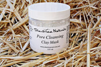 Pore Cleansing Mask - Natural Skincare, Detox, Exfoliate, Blackhead Reducing Clay Mask, Oil-Absorbing, Natural Products, Free Shipping