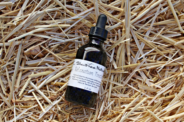 Relaxation Tincture - 2 fl oz, Calming, Relaxing, Muscle Relaxant, GABA-increasing, Nerve-Soothing