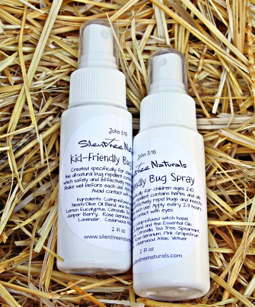 Kid-Friendly Bug Spray - Natural Bug Spray, Catnip-infused Witch Hazel, Natural Bug Repellent