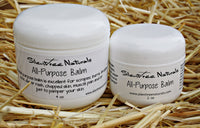 All-Purpose Balm - Natural Skincare, For Scrapes, Burns, Bruises, Acne, Diaper Rash, Chapped Skin, Softening