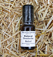 Natural Headache Relief - 10 mL Rollerball - Natural Health. Headache Pain, Tension-Anxiety Headache Relief