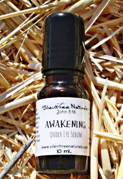 Awakening Under Eye Serum - Natural Skincare, Re-energizing Eye Serum, All-Natural Puffy Eye Reducer
