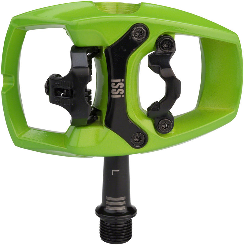 iSSi Flip III Pedals - Single Side Clipless with Platform, Aluminum, 9/16""