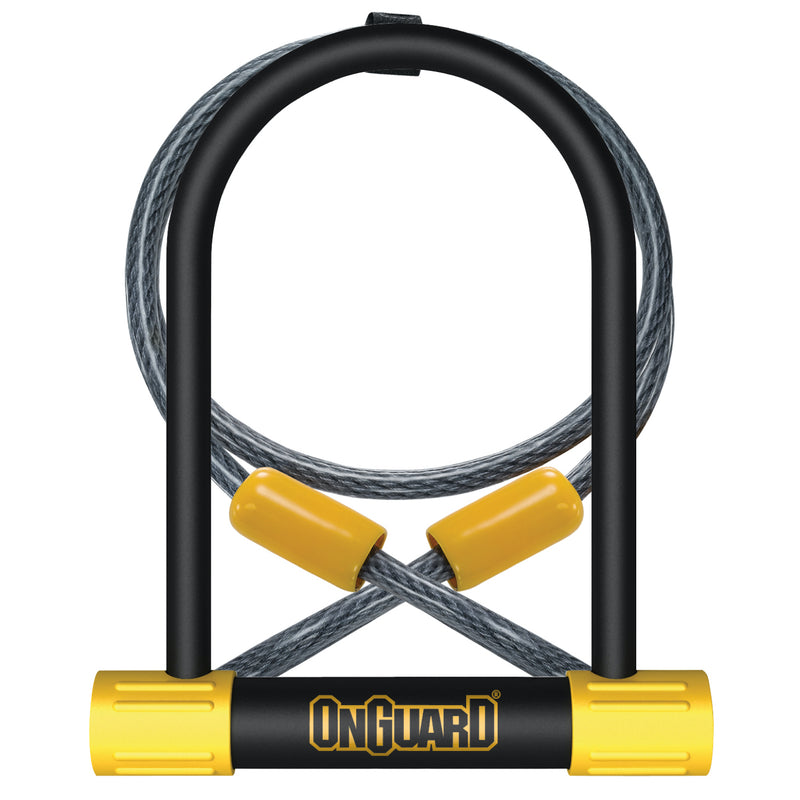OnGuard Bulldog U-Lock w/ 4' Cable