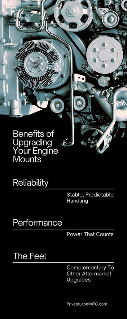 Benefits of Upgrading Your Engine Mounts Infographic