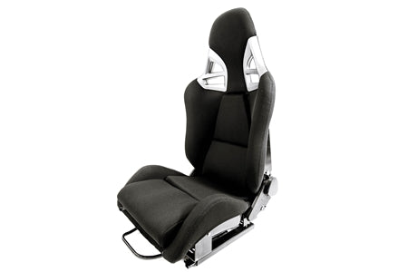F1SPEC 997 GT2 RECLINE SEAT (PAIR) - FRP with Black Cloth
