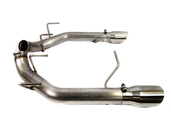 "PLM 2.5"" Dual Axle Back Exhaust Pipe Kit Mustang 2011 - 2014  V8 GT"