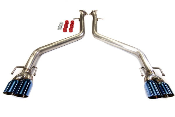 PLM Axle Back Exhaust Muffler Delete For 17-19 Lexus IS & 15-19 RC