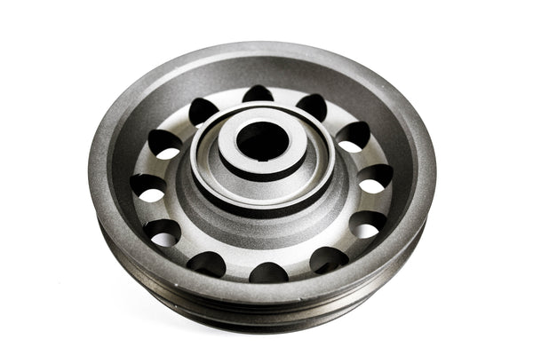 Precision Works Aluminum Crank Crankshaft Pulley 92-95 CIVIC / 93-95 DELSOL